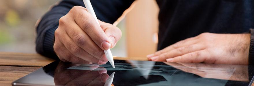 Utilisation d'une signature électronique